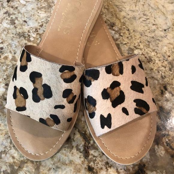 Matisse Leopard Slide Sandal | Poshmark